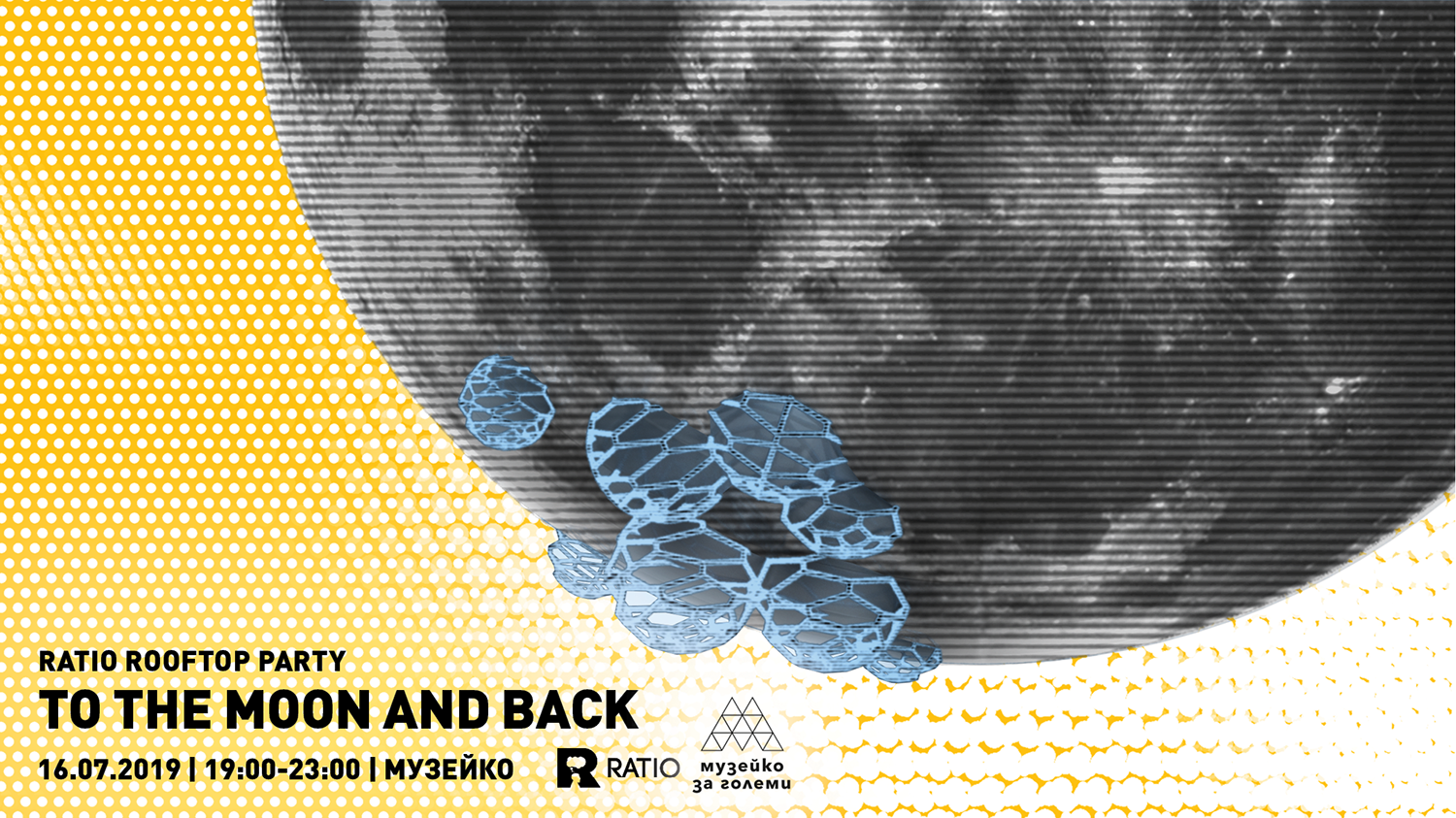 To the Moon and Back – Ratio Rooftop Party