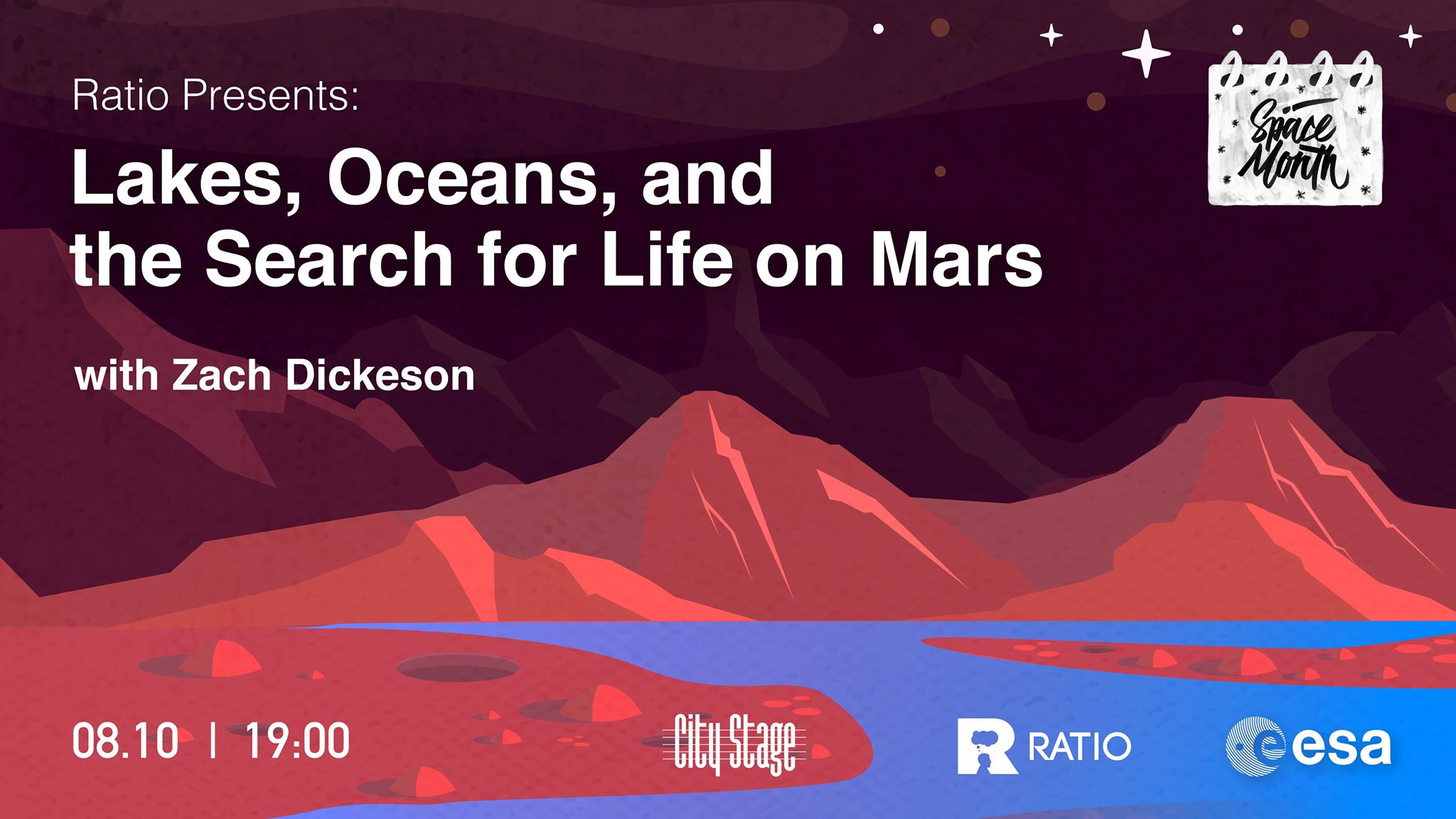 Ratio presents: Lakes, Oceans, and the Search for Life on Mars