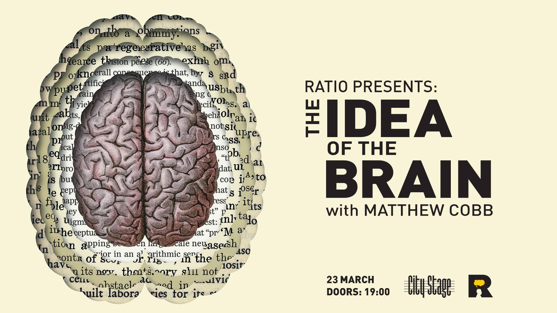 Ratio presents: The Idea of the Brain (23.03)