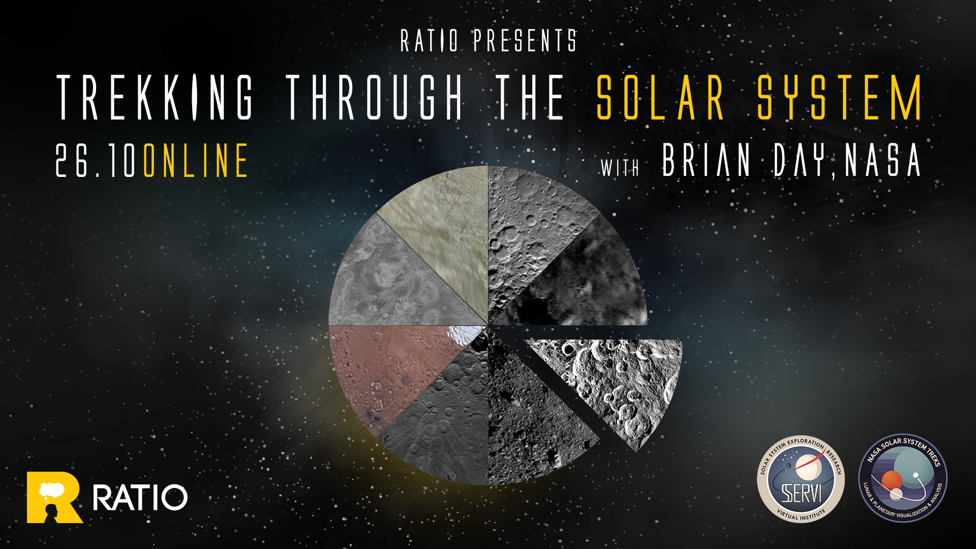 Ratio presents: Trekking through the Solar system [with NASA's Brian Day]